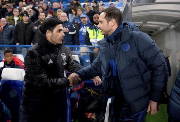 Fabregas nói lời thật lòng về Frank Lampard và Mikel Arteta