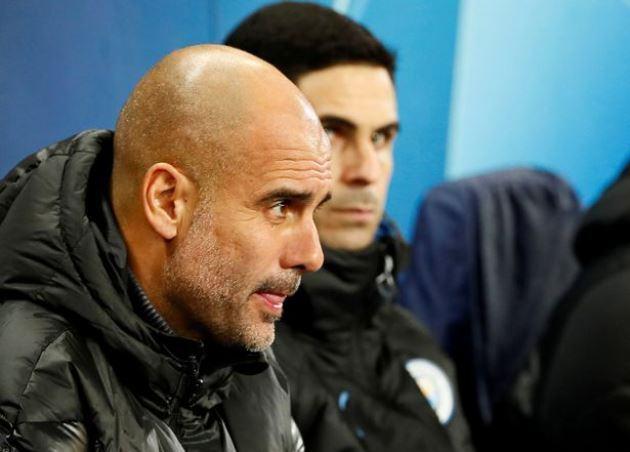 Pep Guardiola thừa nhận Mikel Arteta nắm lợi thế về chiến thuật
