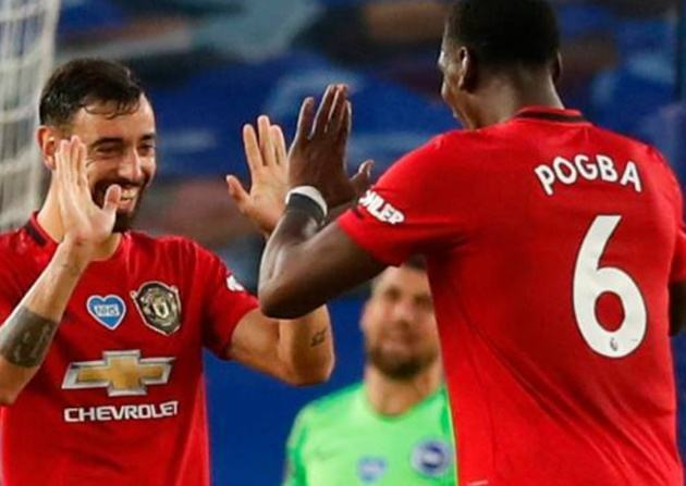 Lập cú đúp, Bruno Fernandes nói lời thật lòng về Pogba