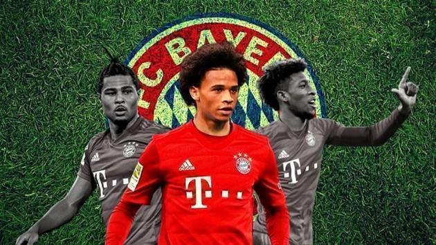 Vừa đến Bayern, Sane nói ngay 1 điều với 2 cái tên cạnh tranh