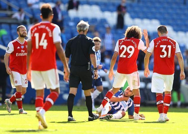 Thua sốc Brighton, Arteta đáp trả đanh thép 'hung thần' của Arsenal