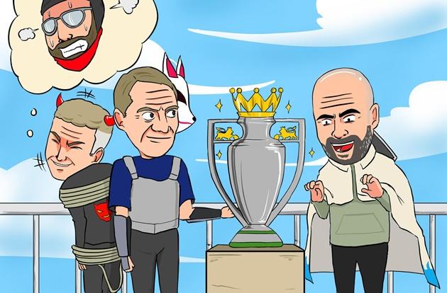 Cười té khói với loạt ảnh chế Leicester thắng Man Utd
