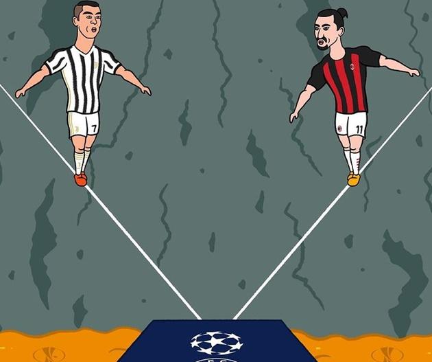 Cười té khói với loạt ảnh chế AC Milan thắng Juventus