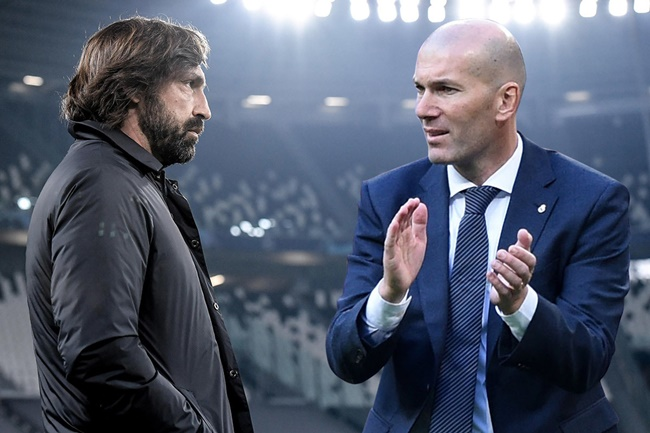Juventus bất ngờ nhắm Zidane thay thế Pirlo