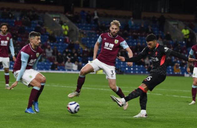 Chấm điểm Liverpool trận Burnley: Salah lập bập; 1 đồng đội tiệm cận hoàn hảo