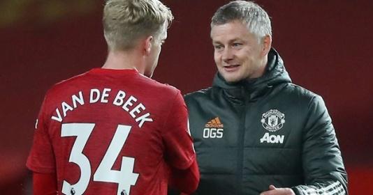 Van de Beek nhận lời khuyên từ cựu sao M.U
