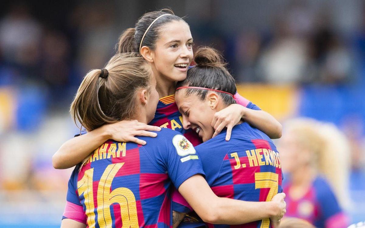 Đội nữ Barca khiến Messi và các đồng đội phải ngước nhìn