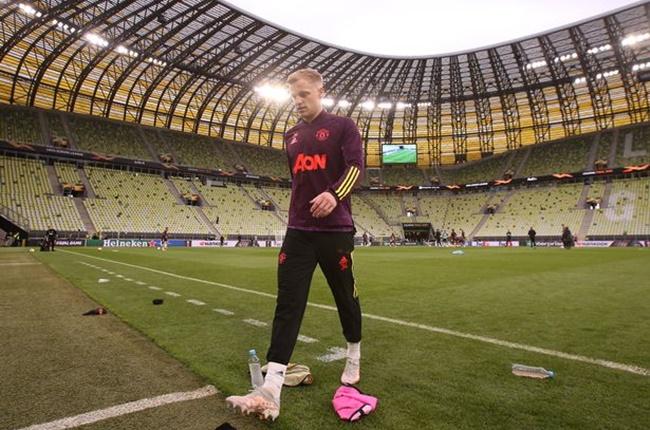 Van de Beek có thể đã tìm ra vị trí mới ở Man Utd