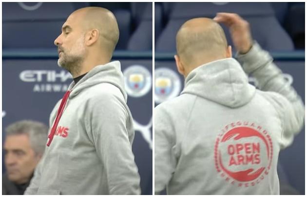 Aguero sút hỏng penalty, Guardiola lập tức làm 3 điều ngoài đường biên