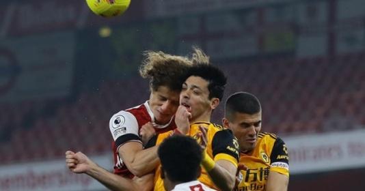 Nứt hộp sọ vì David Luiz, sao sáng Wolves hồi phục thần kỳ