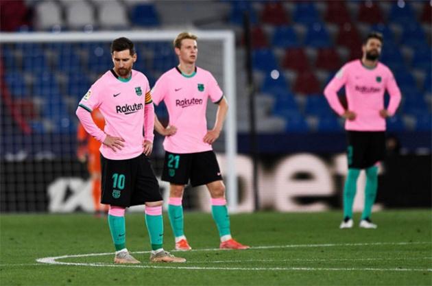 Tương lai Koeman tại Barcelona phụ thuộc vào 2 yếu tố