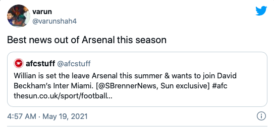 """""""Của nợ"""" rời Emirates, CĐV Arsenal lập tức mở hội"""