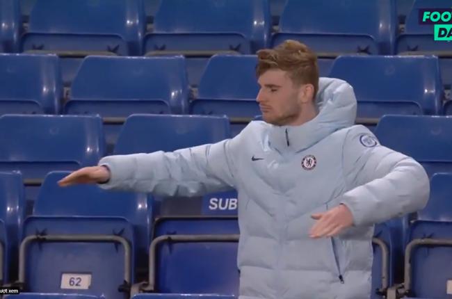 CHOÁNG! Chelsea thắng trận, Werner ăn mừng không thể tin nổi