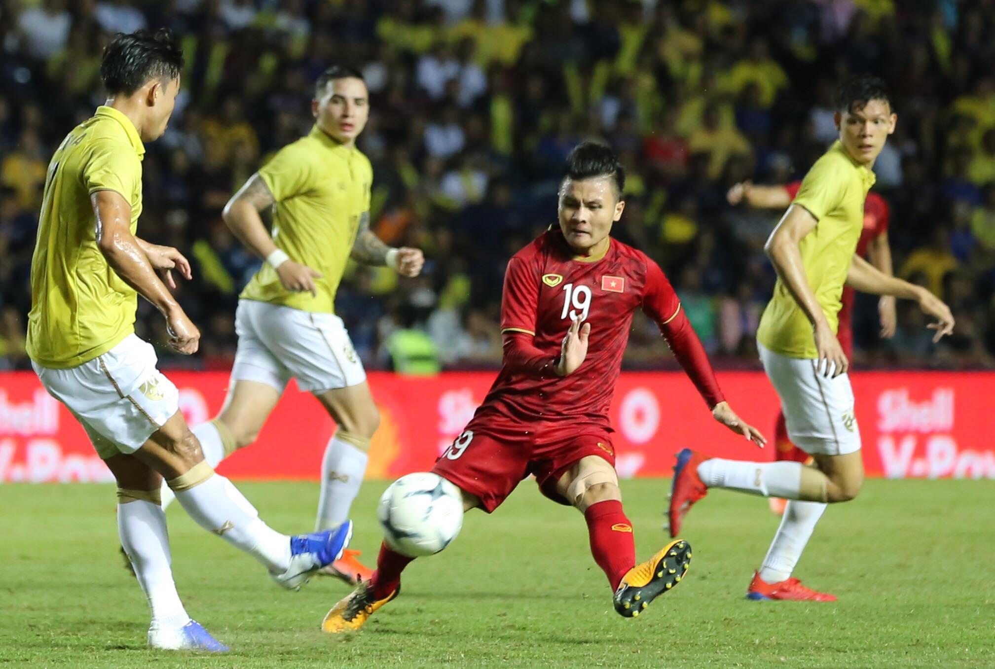 Thái Lan đã cho Việt Nam thấy tầm vóc và trình độ ở VL World Cup