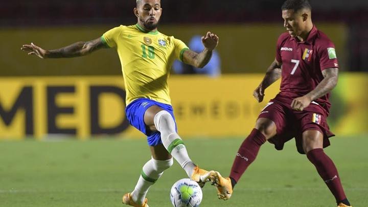 Thành tích đối đầu Brazil vs Venezuela