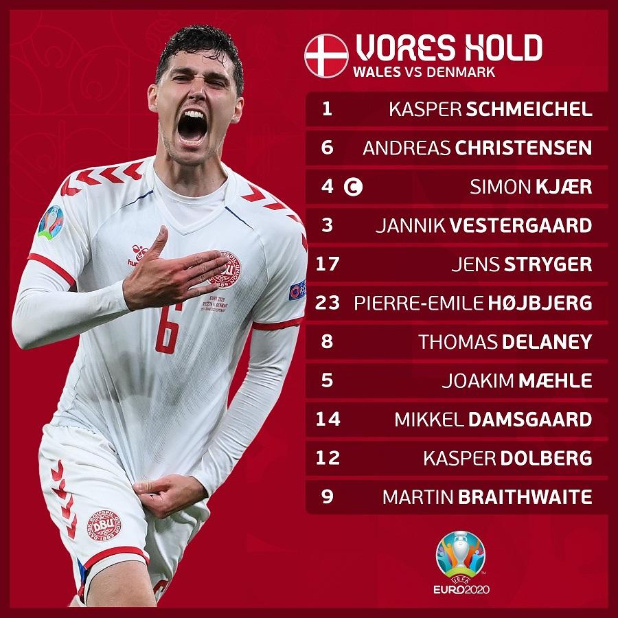 Trực tiếp Xứ Wales 0-2 Đan Mạch: Dolberg lập cú đúp