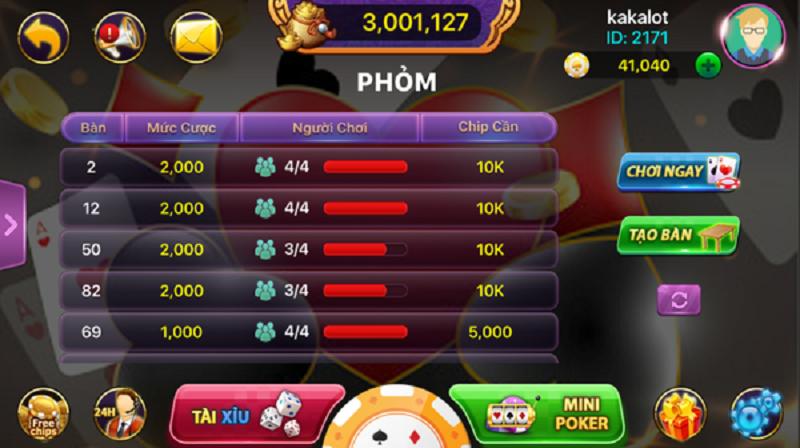 Game bài đổi thưởng đẳng cấp - Casino 365 - Nhacaiso