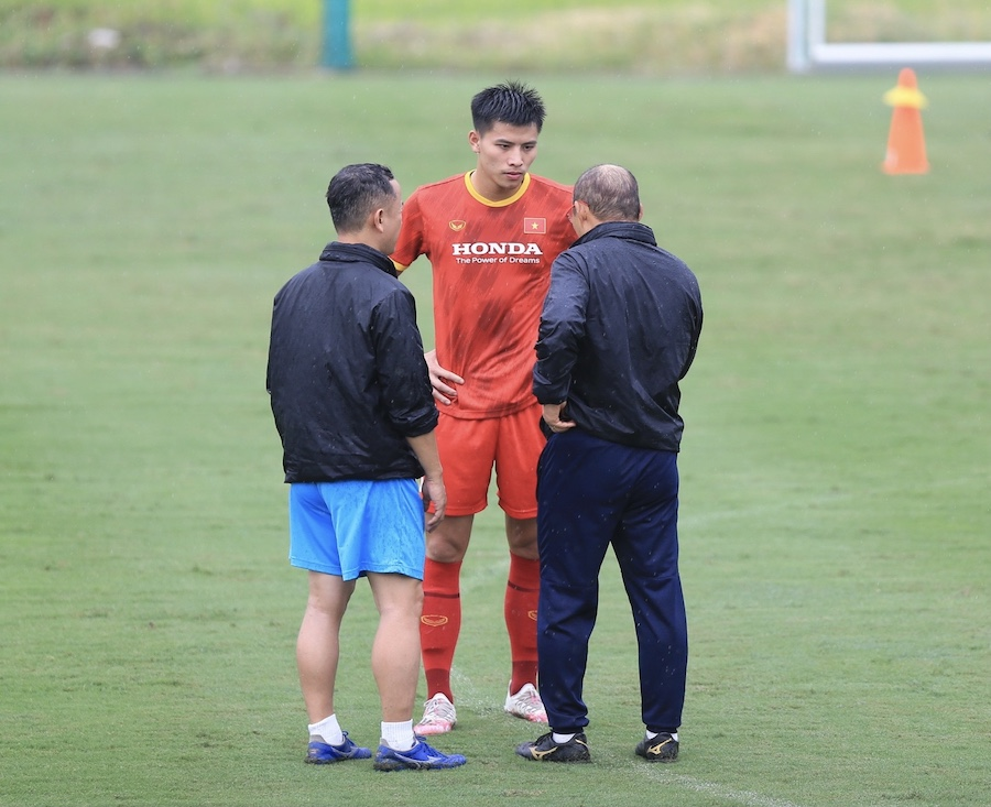 Độ tuổi trung bình của đội tuyển Việt Nam: Trẻ thứ 2 tại bảng G VL World Cup 2022