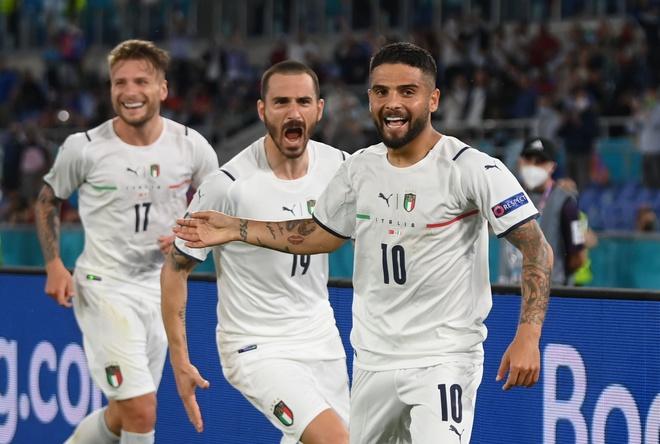 Xem lại bóng đá Italia vs Thổ Nhĩ Kỳ, trận khai mạc EURO 2021