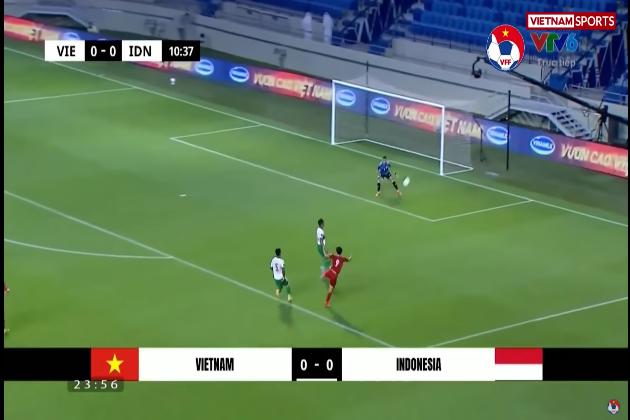 """""""Daniel James Việt Nam"""" xuất hiện trong trận thắng ĐT Indonesia"""