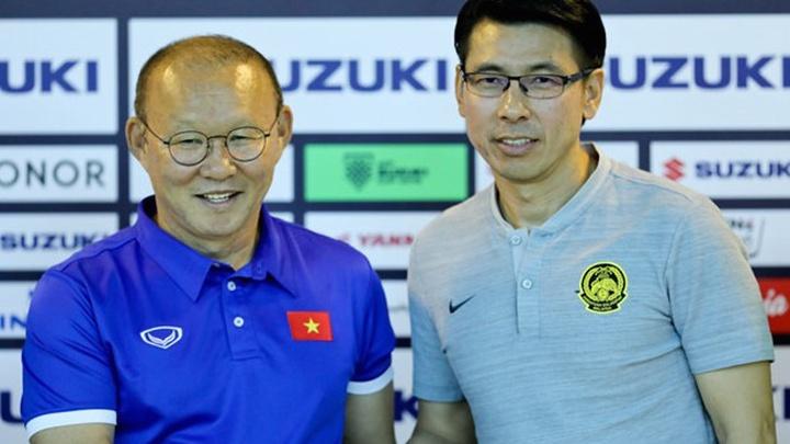 Cứ gặp Tan Cheng Hoe, HLV Park Hang Seo lại gieo sầu cho đối thủ