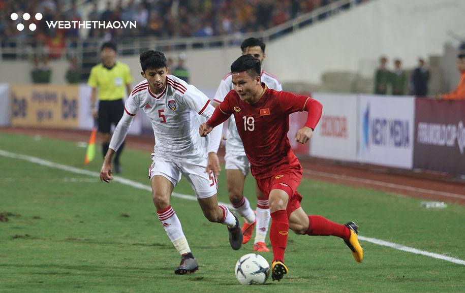 Lịch trực tiếp Bóng đá TV hôm nay 15/6: UAE vs Việt Nam