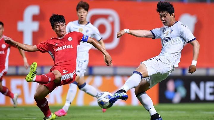 Kết quả Viettel vs Ulsan Hyundai: Thua trận đáng tiếc