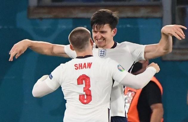 """Harry Maguire: """"Tôi không chấp nhận việc Luke Shaw chơi bên cạnh mình"""""""