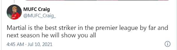 CĐV Man Utd nổi đóa, phản pháo phát biểu của Courtois về Martial