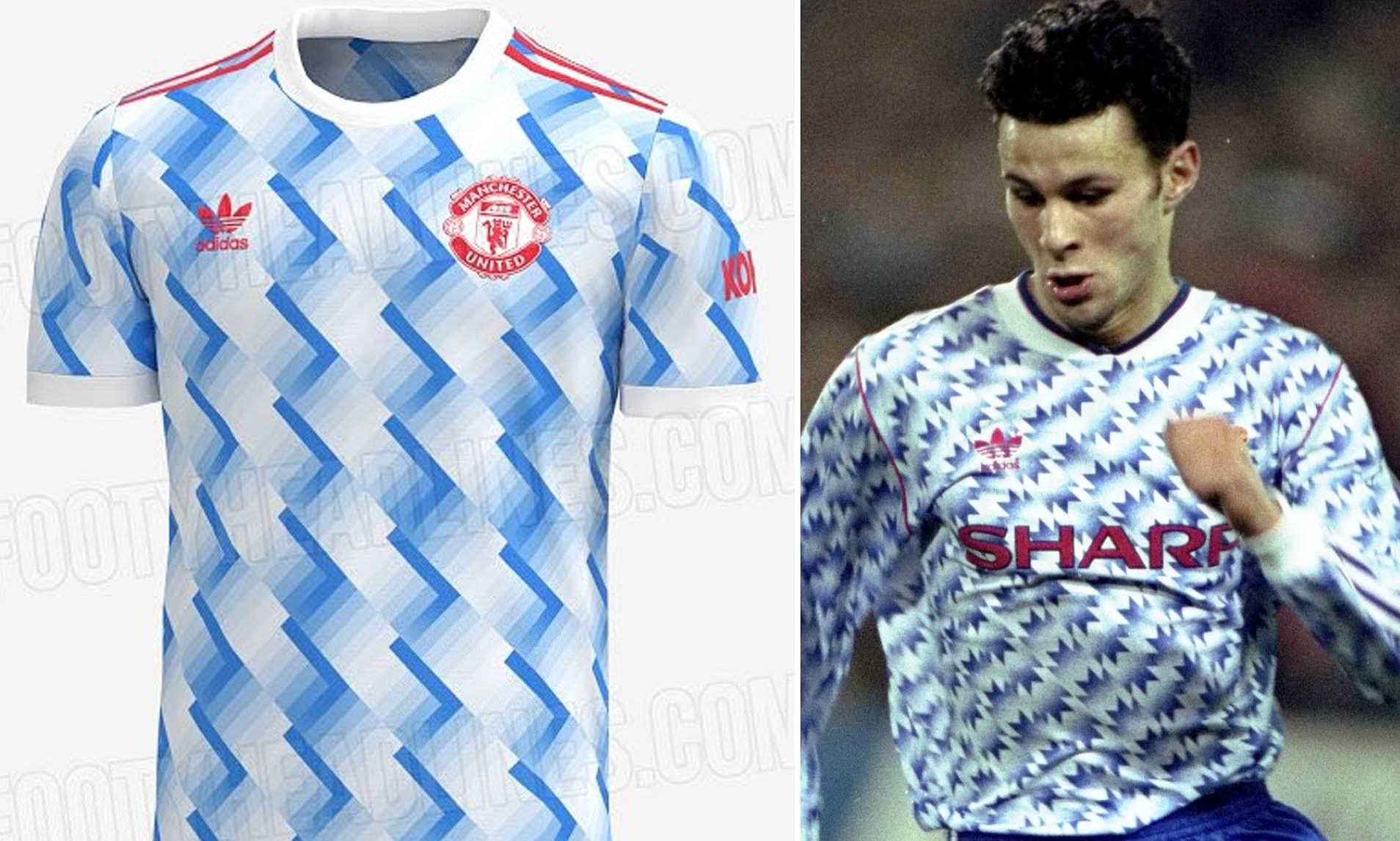 Đây là mẫu áo đấu sân nhà của Man Utd mùa tới?