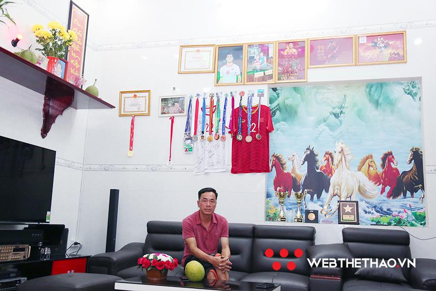 Bố Tiến Linh: Tôi tin con trai cùng đội sẽ thay đổi lịch sử bóng đá Việt Nam