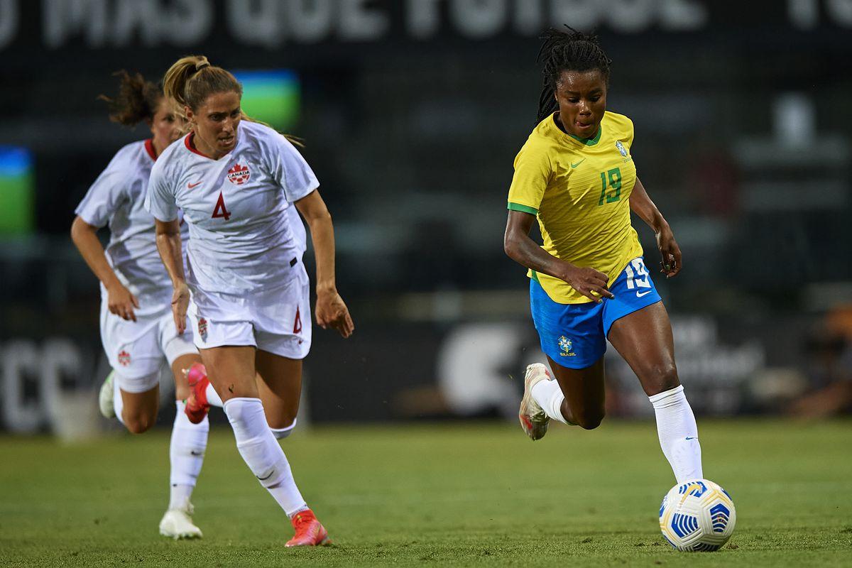 Kết quả bóng đá nữ Canada vs nữ Brazil, Olympic 2021