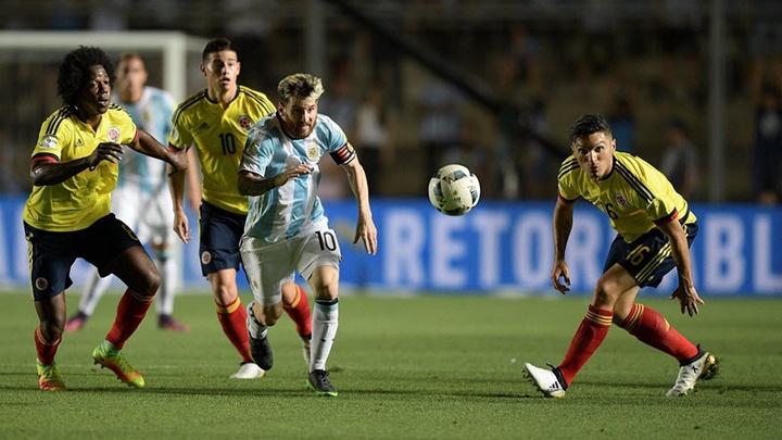 Thành tích đối đầu Colombia vs Argentina