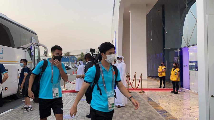Việt Nam và Indonesia được chủ nhà UAE đón tiếp nồng hậu