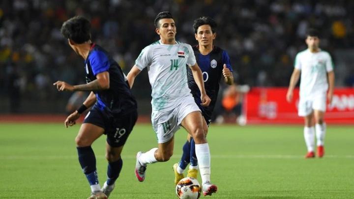 Kết quả Iraq vs Campuchia, video vòng loại World Cup 2022