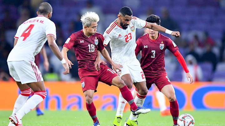 Thành tích đối đầu UAE vs Thái Lan