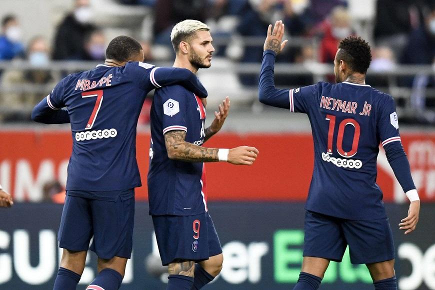 Trực tiếp Reims vs PSG, bóng đá Ligue 1