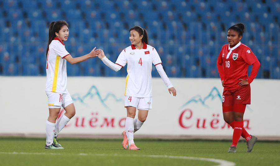Tuyển nữ Việt Nam không được phép chủ quan trước Tajikistan