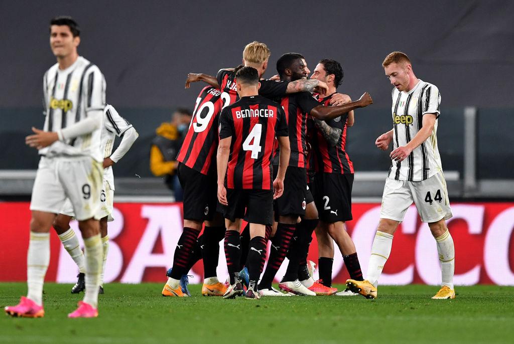 Kết quả Juventus vs AC Milan, vòng 4 Serie A