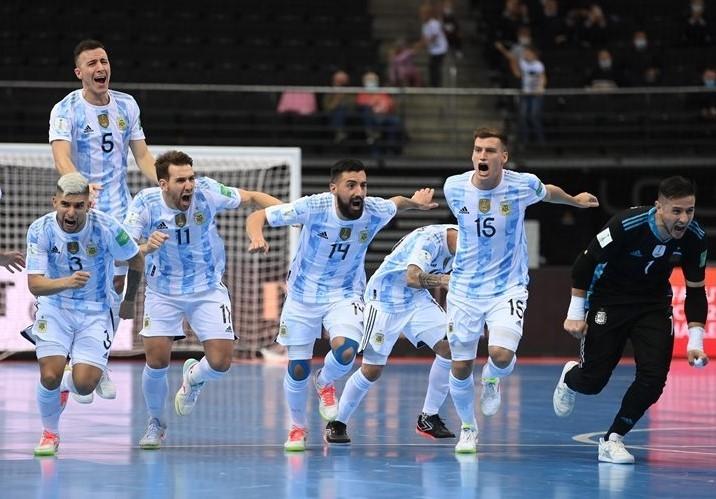 Siêu kinh điển Brazil vs Argentina ở bán kết futsal World Cup 2021