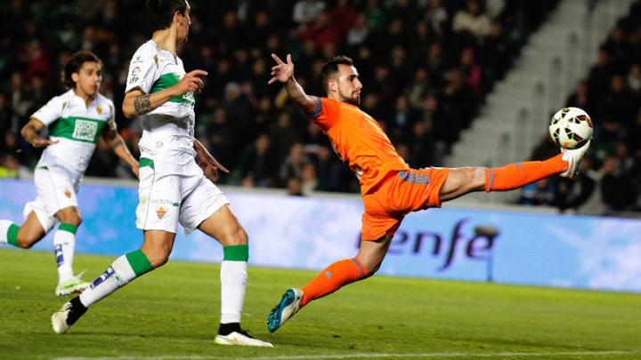 Thành tích đối đầu Elche vs Valencia