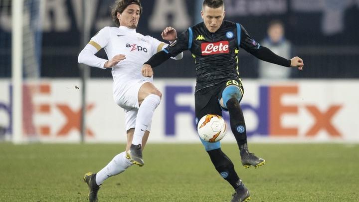 Thành tích đối đầu Napoli vs AZ Alkmaar