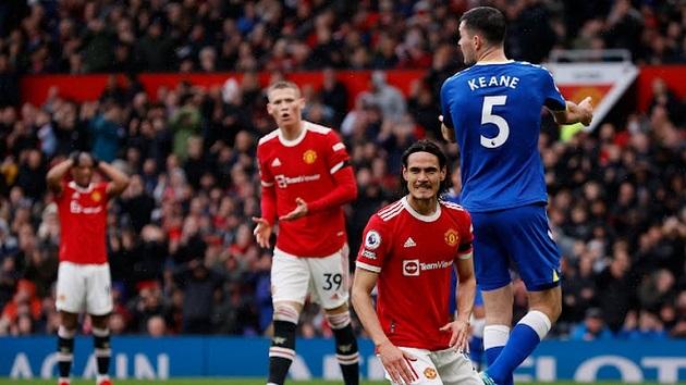 TRỰC TIẾP Man United 1-1 Everton (FT): Mất điểm sân nhà